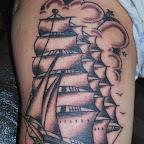 black white arm - tattoos ideas