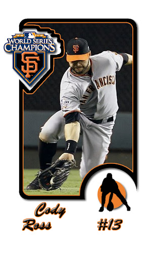 Cody Ross SF Giants Baseball Card Android wallpaper by eyebeam