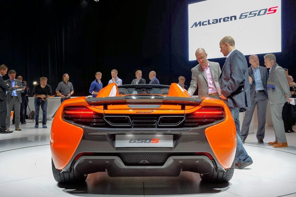McLaren 650S Spider Geneva Motor Show 36