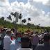 Villa Tapia: Perremeistas marcharon hacia el distrito 0707 de Villa Tapia, protestan por respuesta a empleos, dicen ya está bueno de nombramientos a peledeistas.