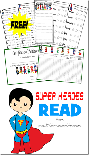 Super Heroes Summer Reading