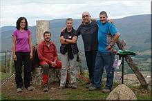 Aldaia mendiaren gailurra 790 m. --  2015eko urriaren 11an