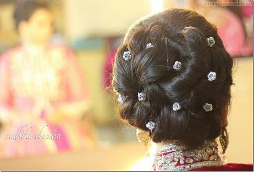 How to make hair bun for indian wedding