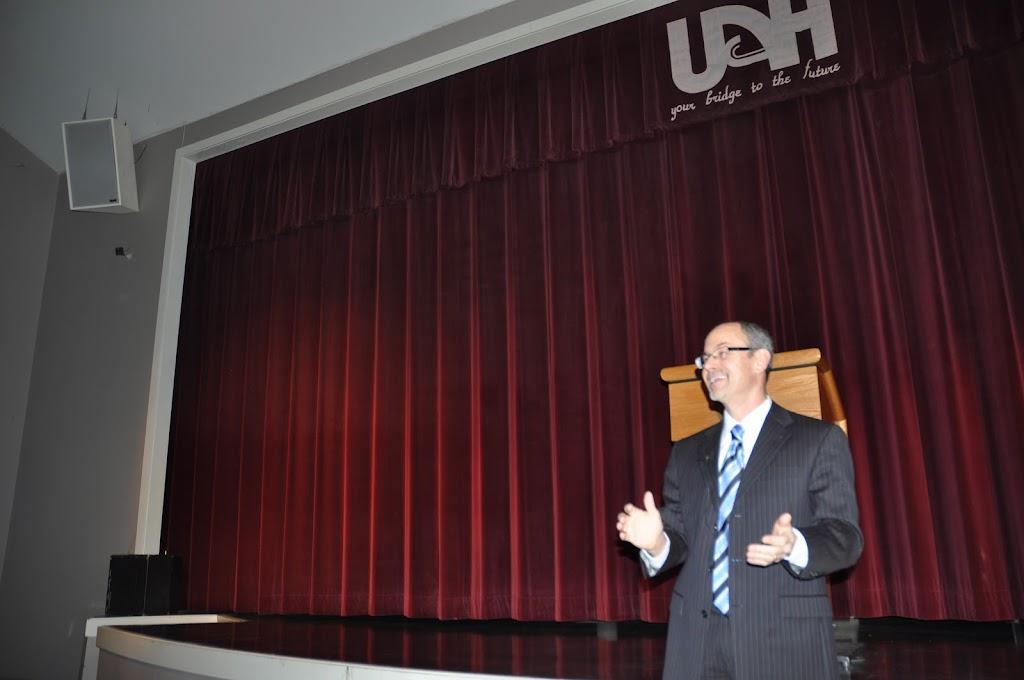 U of A System President Dr. Donald Bobbitt Visit - DSC_0252.JPG