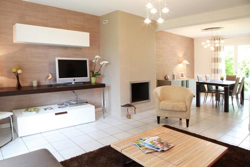 d coration interieur maison neuve. Black Bedroom Furniture Sets. Home Design Ideas