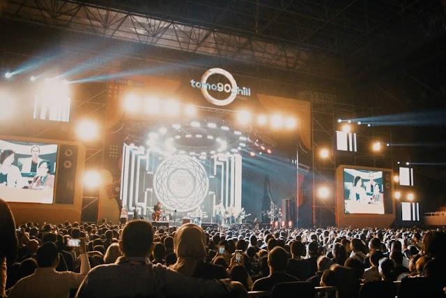 Dewa 19, Once Mekel dan Reza Artamevia sukses membuat penonton bernostalgia di panggung Tamagochill Festival