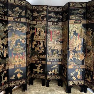 Chinese 8 Panel Screen