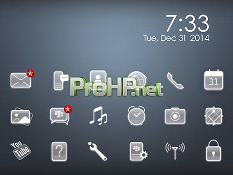 Just 10 v1.6.1 Themes for BlackBerry
