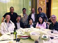 2015 - 09 區春生訪多倫多,9月29日在 Markham 龍匯軒與同學聚餐