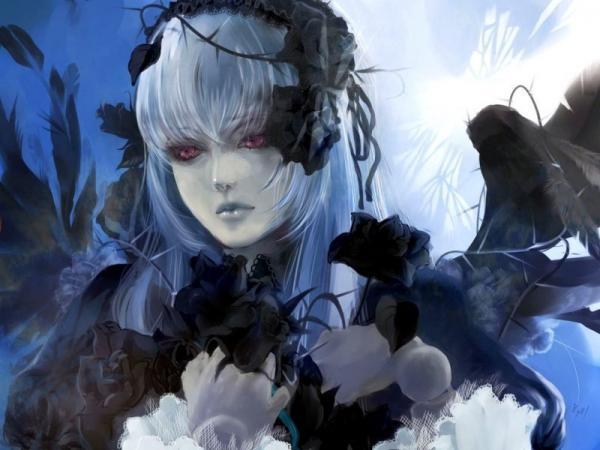 Girl Of Black Sorrows, Gothic