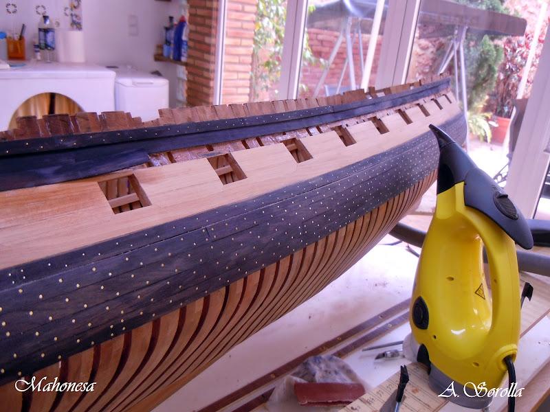 Mahonesa frégate- 34 canons1789 à 1:32 par A. Sorolla plans de Fermin Urtizberea MA1505002