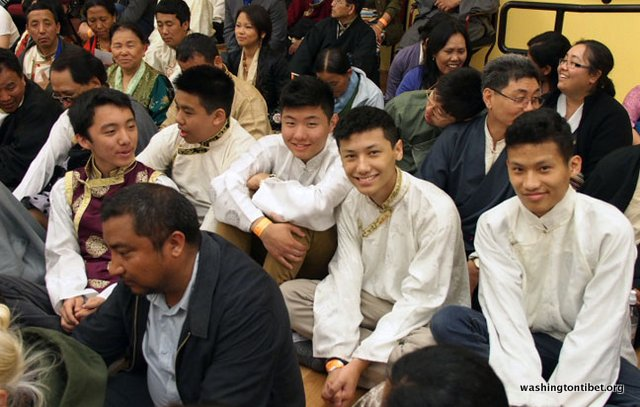 Tibetan Audience with HH Dalai Lama/HH Sakya Trizins Teaching in Portland, OR. - 55-cc%2BP5120031%2BC72.JPG