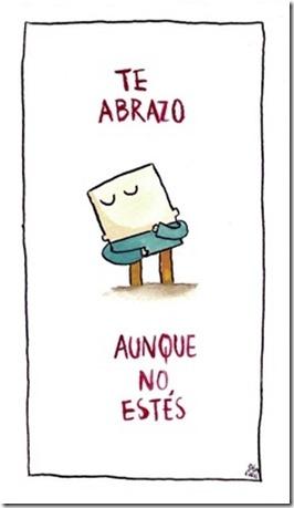 te abrazo