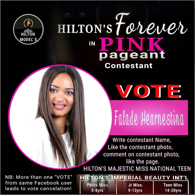 "Hilton's beauty contest *BATCH ""B"" ENROLLMENT HAVE KICKED OFF...!*"