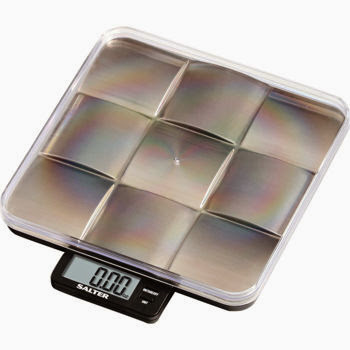 Foodie Gifts: Brushed Stainless Steel Trivet Scale from Salter