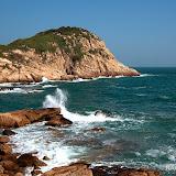 石澳泳灘與大頭洲