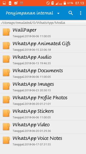 cara memindahkan penyimpanan media whatsapp ke kartu sd