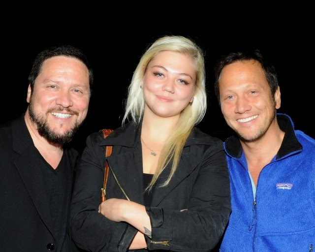 Elle King with father Rob Scheider and Uncle.