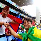 विश्वकप हेर्दै पोखरा नया गाँउका नबिन गुरुङलगायतका नेपालीहरु। तस्वीरः जयदेव गुरुङ