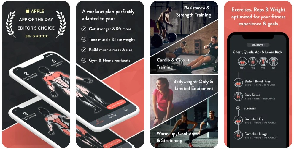 Fitbod Workout & Fitness Plans