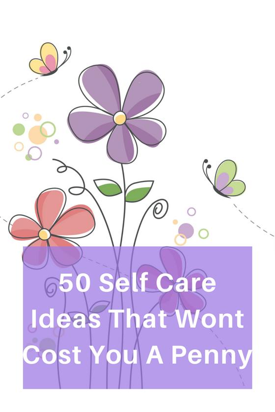 Self Care - Magazine cover