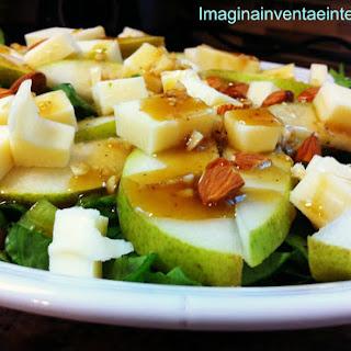 Pear Salad and Vinaigrette