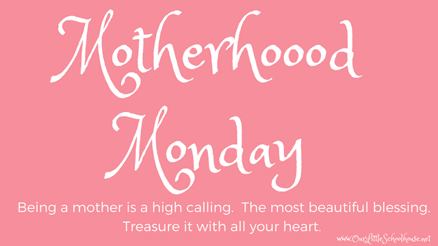 Motherhood Monday 2