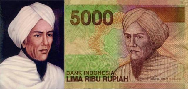 Tuanku imam bondjol pahkawan nasional asal sumatera barat
