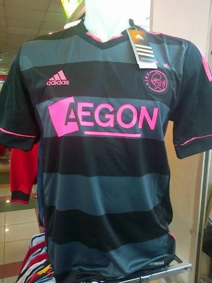 Jual Jersey Ajax Amsterdam Away Terbaru 2014