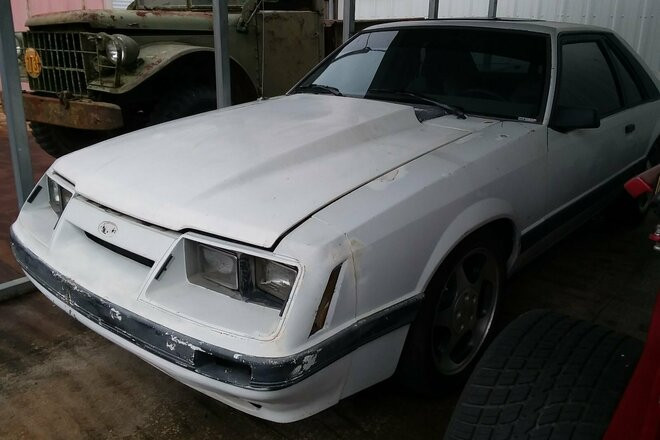1986 Ford Mustang Fox Body Hire LA