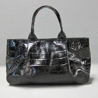 Furla Embossed Leather Handbag