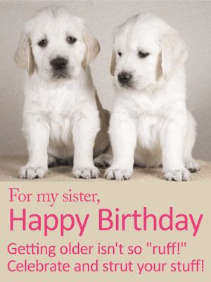 funny sister birthday images