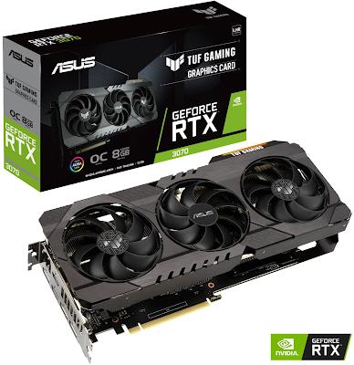 ASUS TUF Gaming GeForce RTX 3070 8GB OC V2 LHR Graphics Card