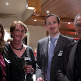 Committee Members Melanie Dankel (L) and Charles Houen (R) with Kerry Biram and Peter Riches