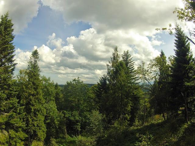 Вид з гори Ключ
