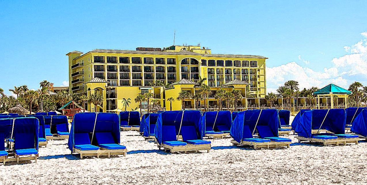 St Pete Hotels  Sirata Beach Resort  Hotels in St Pete Beach