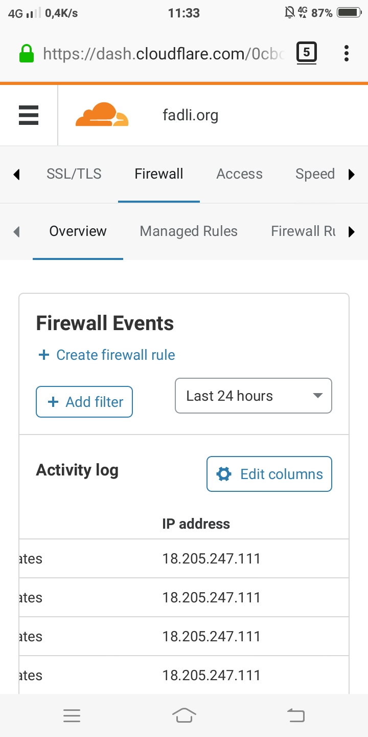 firewall cloudflare