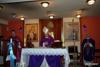 Photo: z prawej - proboszcz parafii w Łabuniach ks. Piotr Rawlik