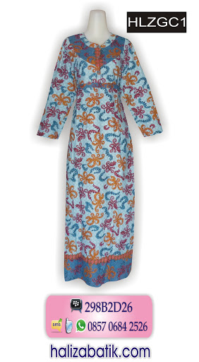 gambar model baju batik, baju modern, batik pekalongan