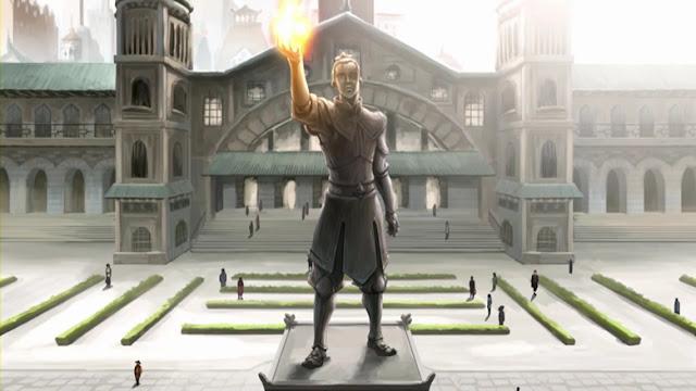 Estatua de Zuko Avatar Korra