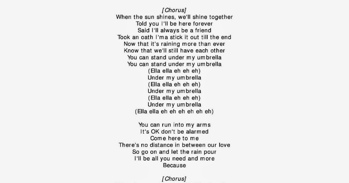 Rihanna Umbrella Lyrics 88wallpaper