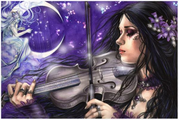 Night Song Of The Violin, Gothic