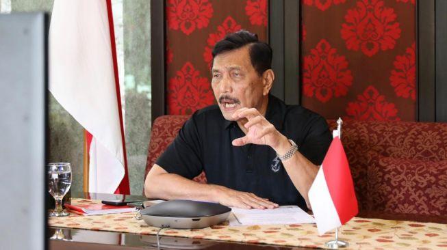 Utang Indonesia Naik, Menteri Luhut: Gara-gara Covid-19