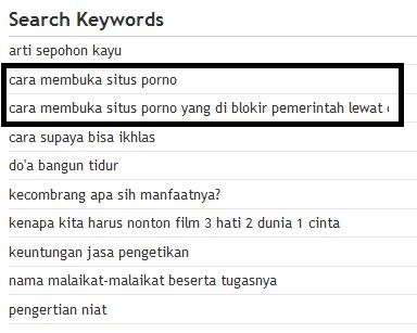 Keyword video porno