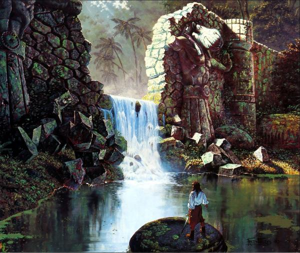 Isle Of Waterfall, Magical Landscapes 1