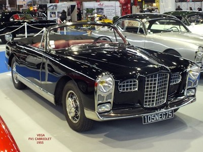 Facel Véga 1955 FV 1 cabriolet