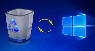 شرح كيفية استعادة الملفات المحذوفة من سلة المحذوفات على الكمبيوتر