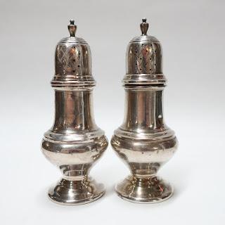 Sterling Silver Salt & Pepper Shaker