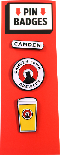 Camden Town Brewery Pins