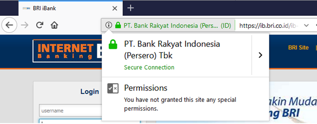 perlakuan firefox terhadap situs https